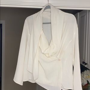 Zara Flowing wrap Blouse